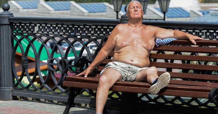 Россия погода жара аномалия