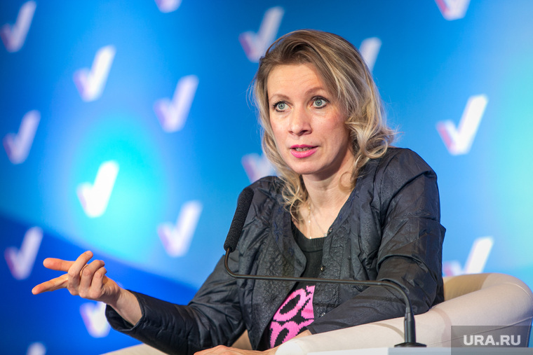 Захарова ответила на обвинения РФ в организации протестов в США