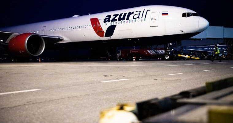 Азур эйр Турция Екатеринбург перелеты Кольцово Анталья