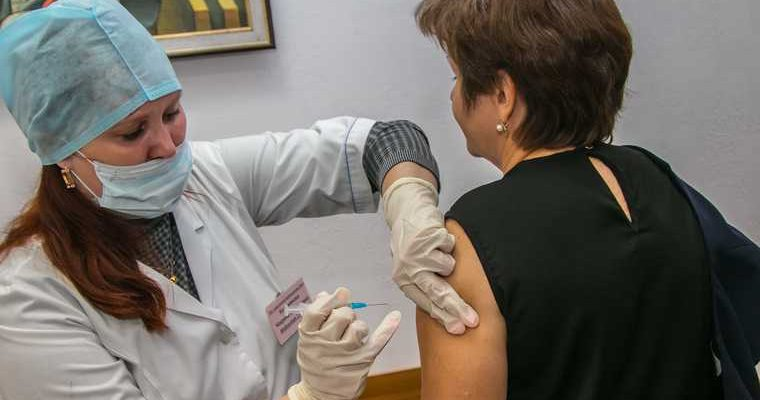 Собянин вакцинация