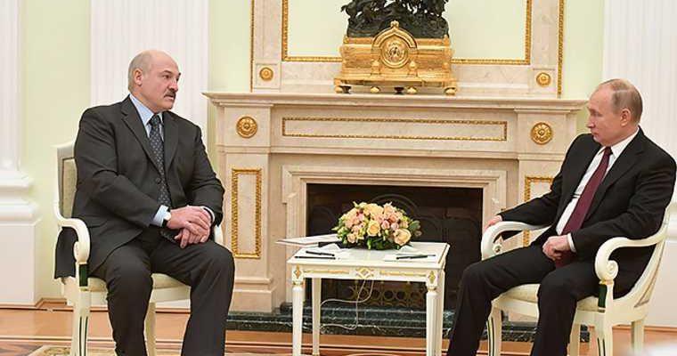 отношение Владимира Путина к протестам в Белоруссии