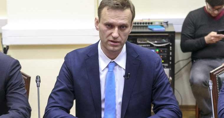 Навальный отравление