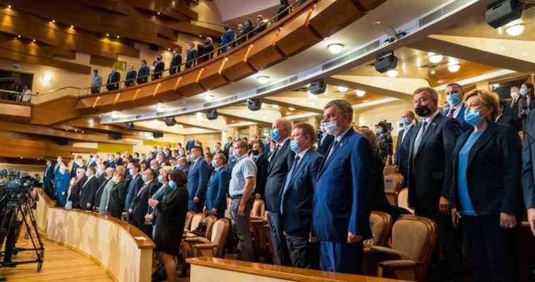 полпред Цуканов инаугурация новый состав правительства заместителя переизбрание