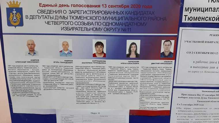 В Тюмени создали двойника кандидата в депутаты