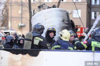 взрыв больница Челябинск кислородная будка пожарные