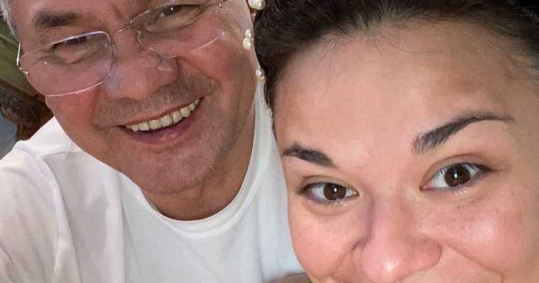 Министр обороны РФ Сергей Шойгу дочь Ксения Шойгу триатлон Россия президент Федерация