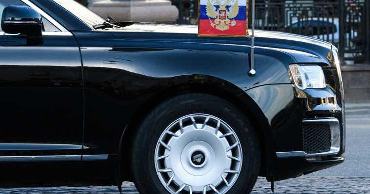 В Тобольске заметили кортеж Путина