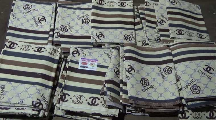 Под Курганом изъяли одежду Chanel и Louis Vuitton из Киргизии. Фото