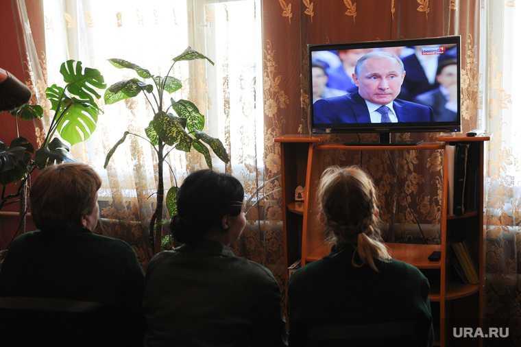 Колония номер 5. Прямая  линия с Путиным. Челябинск