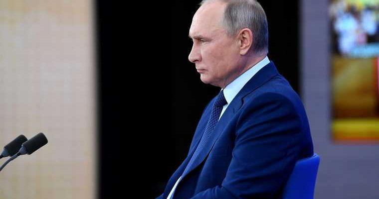 медийная атака Путин