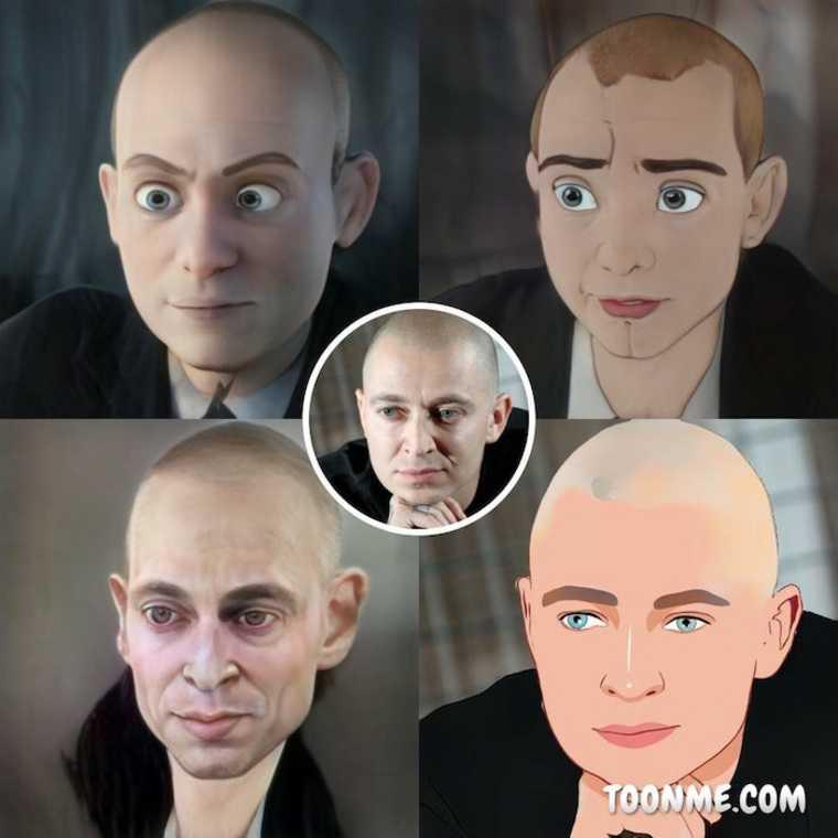Рэпера Оксимирона превратили в мультяшку и сравнили с Путиным. Фото