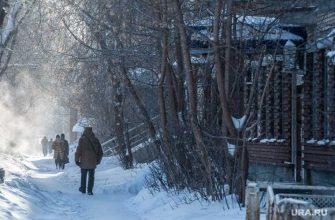 Свердловская область 9 февраля морозы аномалия МЧС