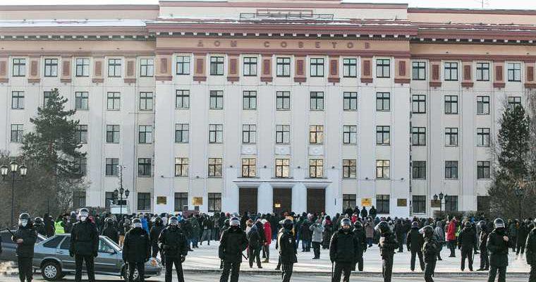Митинг Навального в Тюмени