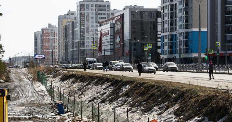 Екатеринбург Академический трамвайная ветка