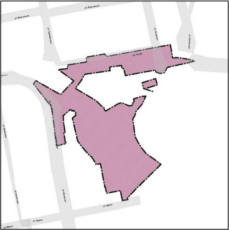 В Екатеринбурге хотят застроить очередную зеленую зону. Скрин