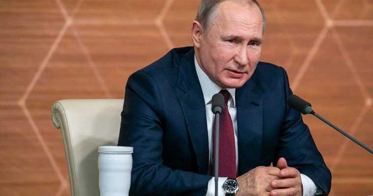 Песков выступление Путин климатический саммит