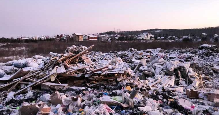 мусорный коллапс ЯНАО проблема складирования отходов