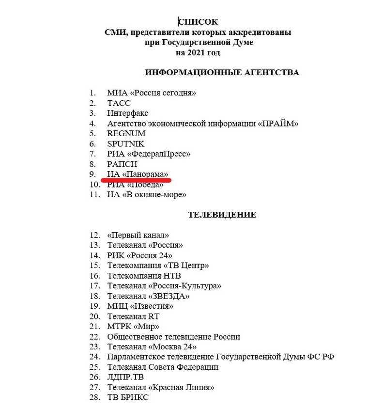 В Госдуме ответили на слухи об аккредитации скандального СМИ