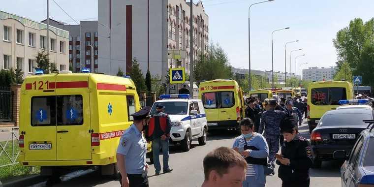 Главное о массовом убийстве в казанской школе. Фото