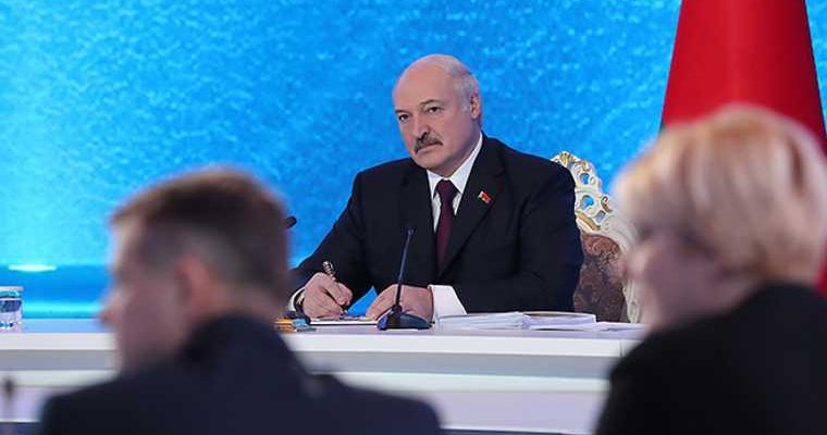 Белоруссия санкции