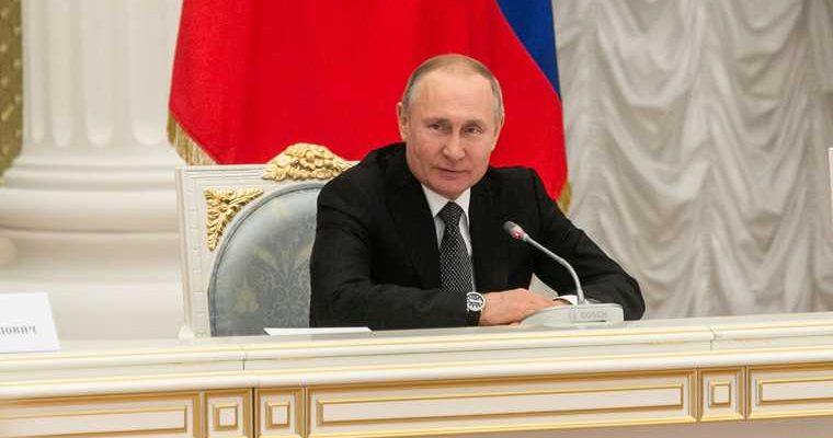встреча Путин