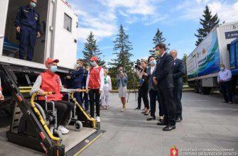 автопоезда медпомощь на селе губернатор Евгений Куйвашев Свердловская область
